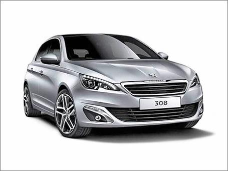 Автомобиль Peugeot 308. Фото предоставлено пресс-службой
