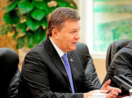Президент Украины Виктор Янукович. Фото: Reuters