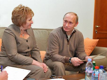 Владимир Путин и Людмила Путина. Фото: РИА Новости