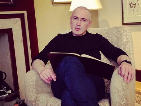 Михаил Ходорковский в Берлине. Фото: Reuters