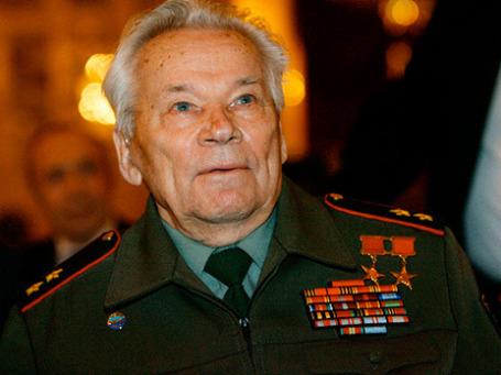 Михаил Калашников. Фото: РИА Новости
