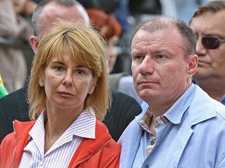 Владимир Потанин с супругой Натальей. Фото: ИТАР-ТАСС