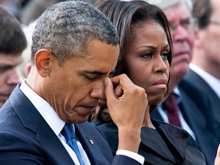 Барак Обама и его супруга Мишель. Фото: Reuters