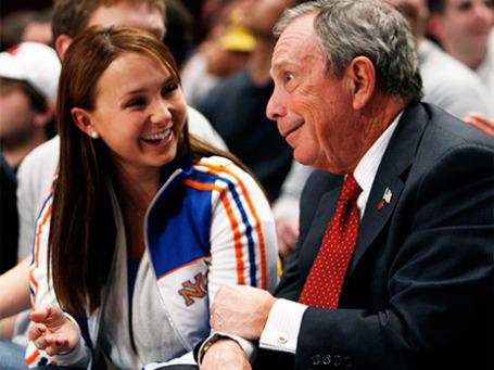 Майкл Блумберг со своей дочерью Джорджиной. Фото: Reuters