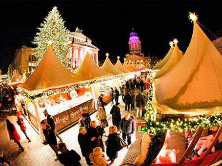 Рождественская ярмарка в Берлине. Фото: Reuters