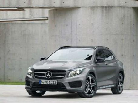 Mercedes-Benz GLA. Фото: mercedes-benz.com