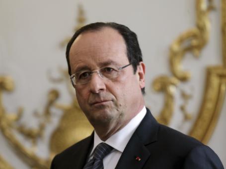 Президент Франции Франсуа Олланд. Фото: Reuters
