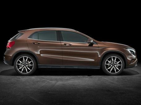 Mercedes-Benz GLA. Фото: Mercedes-Benz