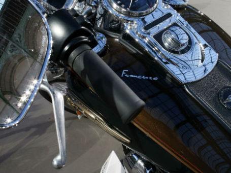 Мотоцикл Harley-Davidson Папы Римского Франциска. Фото: Reuters