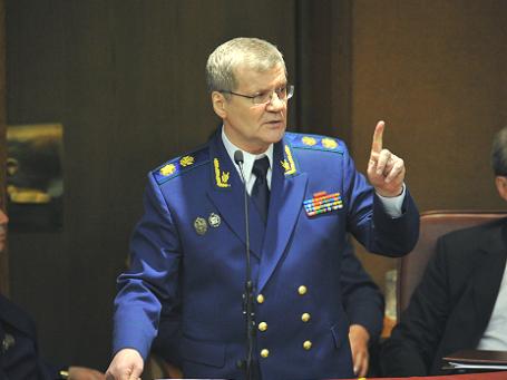 Генпрокурор РФ Юрий Чайка. Фото: РИА Новости