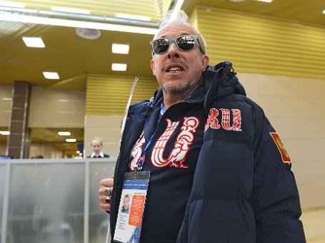 Андрей Макаревич в Международном аэропорту Сочи. Фото: РИА Новости