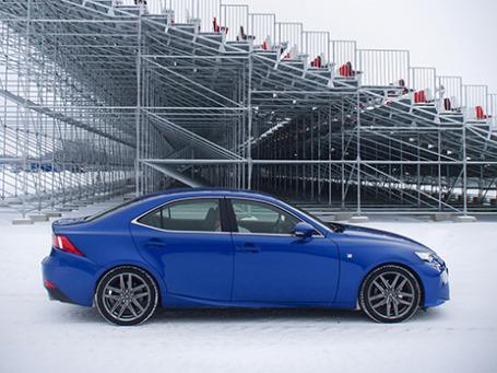 Lexus IS 250. Фото: Георгий Хачатуров/BFM