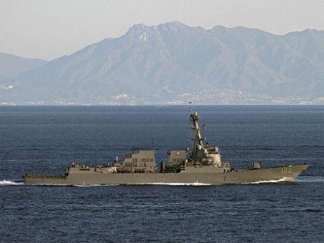 Эскадренный миноносец USS Truxtun. Фото: Сайт ВМС США