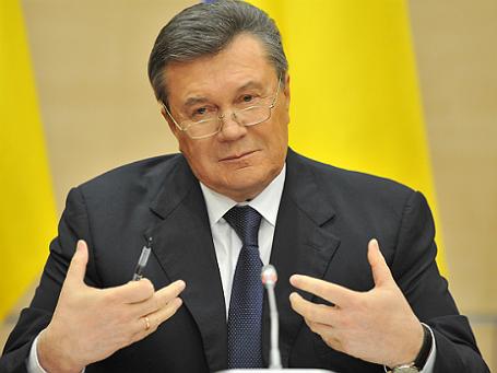 Виктор Янукович. Фото: РИА Новости.