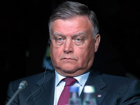 Глава ОАО «Российские железные дороги» Владимир Якунин. Фото: РИА Новости