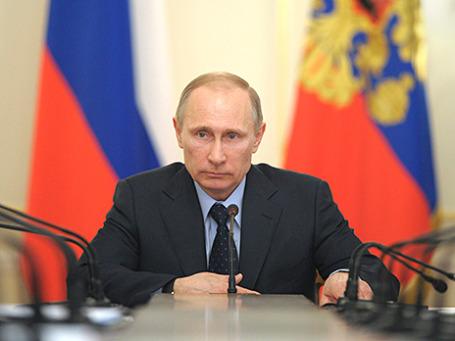 Владимир Путин. Фото: Reuters