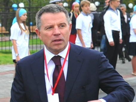 Совладелец Челябинского трубопрокатного завода Андрей Комаров. Фото: РИА Новости.