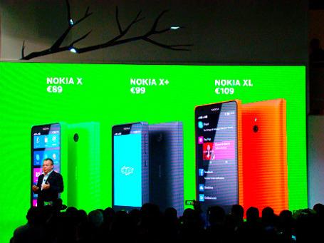 Nokia продолжает экспансию на рынке недорогих смартфонов. Фото: Виталий Акимов/BFM.ru