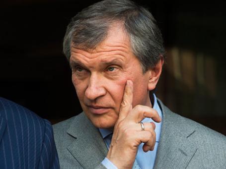 Президент государственной нефтяной компании «Роснефть» Игорь Сечин. Фото: РИА Новости