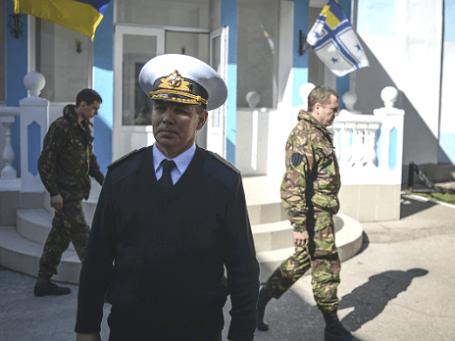 Главнокомандующий Военно-морскими силами Украины Сергей Гайдук. Фото: РИА Новости.