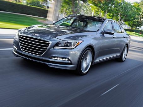 Hyundai Genesis. Фото: Hyundai
