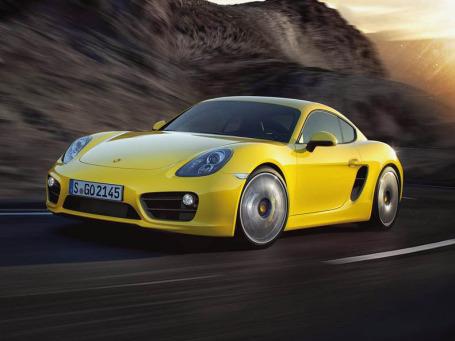 Porsche Cayman. Фото: Porsche