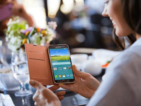 Samsung Galaxy S5 — не революция, но эволюция. Фото: пресс-служба Samsung