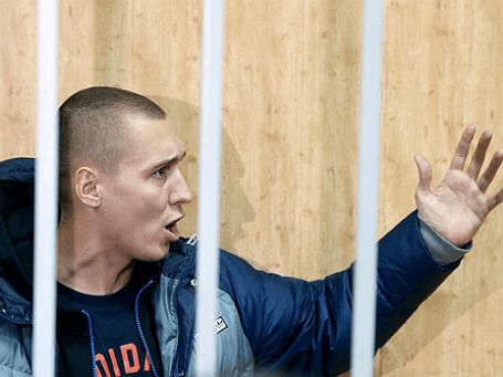 Рэпер Роман Чумаков (Рома Жиган). Фото: РИА Новости.