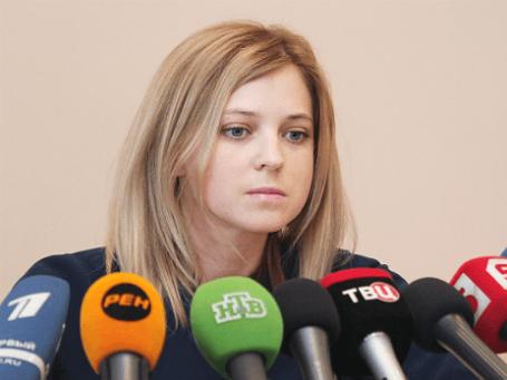 Прокурор республики Крым Наталья Поклонская. Фото: РИА Новости.