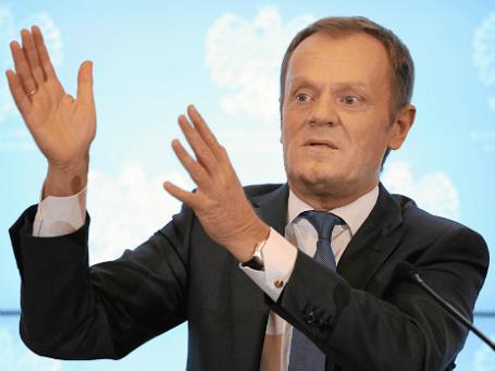 Премьер-министр Польши Дональд Туск. Фото: Reuters.