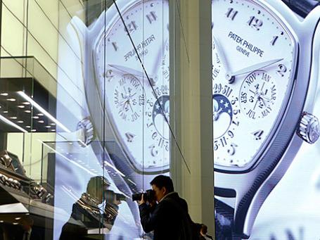 Международная выставка часов и украшений в Базеле. Фото: Reuters