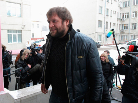 Боец Александр Емельяненко. Фото: РИА Новости