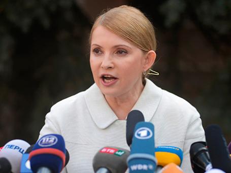 Юлия Тимошенко. Фото: РИА Новости