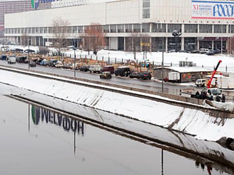 Центральный дом художника на Крымском валу. Фото: РИА Новости
