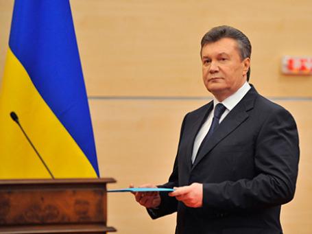 Президент Украины Виктор Янукович. Фото: РИА Новости
