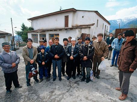 Крымские татары в Ялте. Фото: РИА Новости