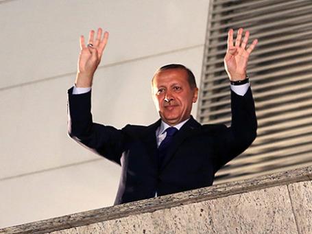 Премьер-министр Турции Тайип Эрдоган. Фото: Reuters