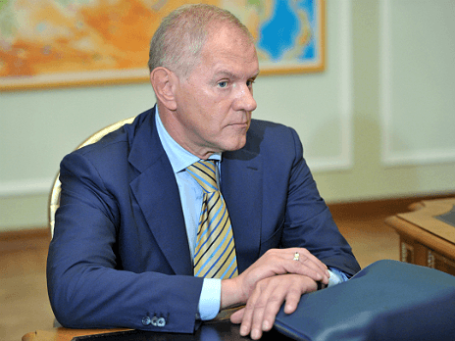 Экс-глава Федерального агентства по рыболовству Андрей Крайний. Фото: РИА Новости.