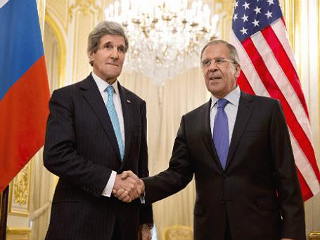 Госсекретарь США Джон Керри (слева) и министр иностранных дел РФ Сергей Лавров. Фото: Reuters.