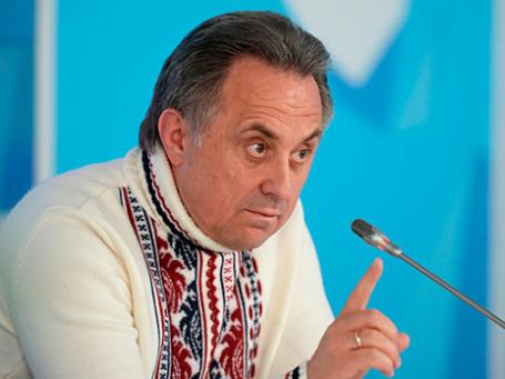 Министр спорта РФ Виталий Мутко. Фото: РИА Новости