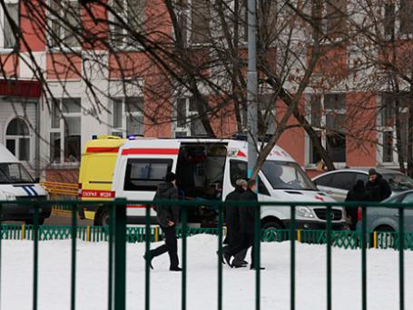 Здание школы №263 в Москве, где в феврале 2014 года старшеклассник Сергей Г. застрелил несколько человек. Фото: РИА Новости