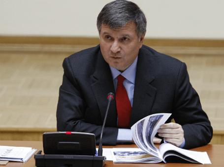 Глава МВД Украины Арсен Аваков. Фото: ИТАР-ТАСС