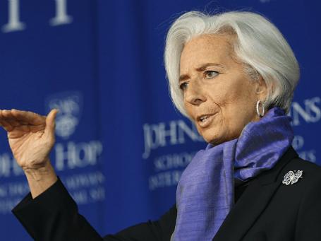 Глава МВФ Кристин Лагард. Фото: Reuters
