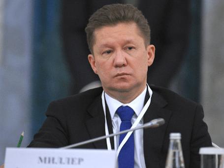 Глава «Газпрома» Алексей Миллер. Фото: ИТАР-ТАСС.