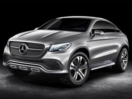 Mercedes-Benz Concept Coupe SUV. Фото: Mercedes-Benz