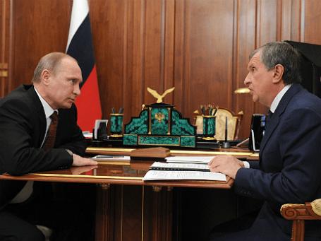 Президент РФ Владимир Путин и глава