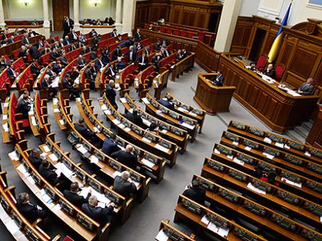 Закрытое заседание Верховной рады Украины 16 апреля 2014 года