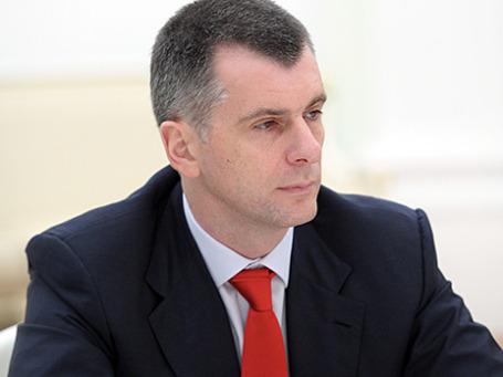 Бизнесмен Михаил Прохоров