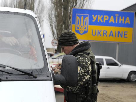 Пропускной пограничный пункт «Успенка» на российско-украинской границе