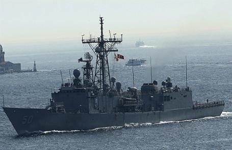 Фрегат USS Taylor.